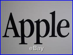 Apple Display Sign Vintage Rare Old Logo Collectible iPhone Eighties Unique