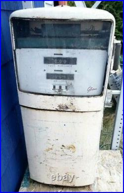 GILBARCO 1006 GAS PUMP EXXON advertising vintage gas station old shop sign