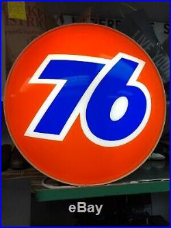 Large Vintage Union 76 Gas Station Light Up Sign 76 Service Station 24inches