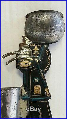 Price Reduced Vintage Collectible De Laval Match Safe & Bx Advertising 1908 Tin