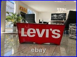 RARE Vintage Levis advertising store sign neon sign