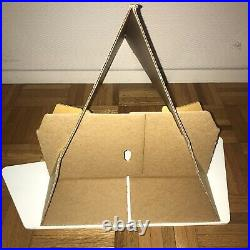 Vintage 1960s Fender music store window Guitar Bass Stand Display Sign Strat
