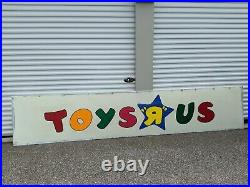 Vintage Authentic Toys R Us Store Sign 1980s Local Pickup
