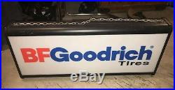 Vintage BF Goodrich Lighted Tire Sign