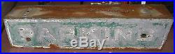 Vintage Ex Neon Parking Tin Sign Global Shipping Available