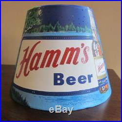 Vintage Hamm's Beer Motion Shade Hamms Advertising Motion Sign Lamp Shade only