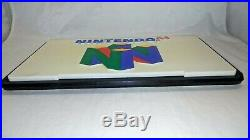 Vintage NINTENDO 64 Promotional Retail Store RARE DISPLAY SIGN N64 Double-Sided