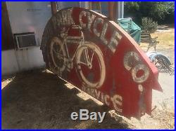 Vintage Neon Sign Full Size 1930s Bicycle