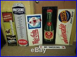 Vintage/Original BARQ'S ROOT BEER Thermometer Metal Soda SignWorks WellLQQK