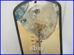 Vintage Pepsi Cola Soda Store Thermometer Advertising Large M-523