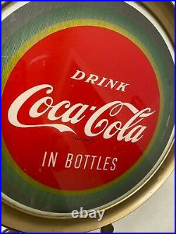 Vintage Price Brothers Drink Coca Cola Motion Illusion Counter Top Lighted Sign