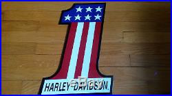 Vintage Sign Harley Davidson Mobil Shell Gulf Ford Chevy Dodge Chrysler