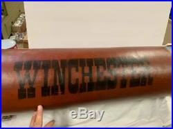 Vintage WINCHESTER Shotgun Shell Store Display Sign GAS OIL SODA COLA HUNTING