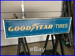 Vintage lighted Goodyear Tire Sign