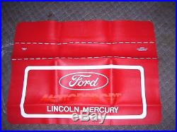 Vintage nos original 1980s FORD Motorsport auto fender accessory mustang shelby